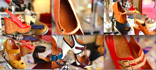 A selection of Chie Mihara shoes