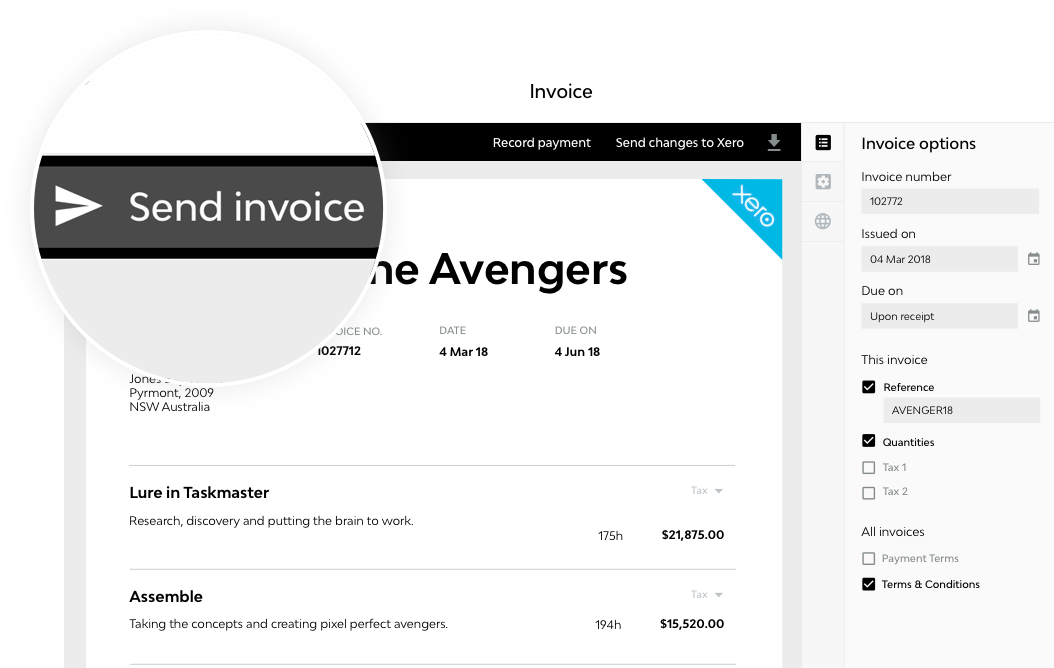 Quoting and Invoicing for a Design Job | Streamtime