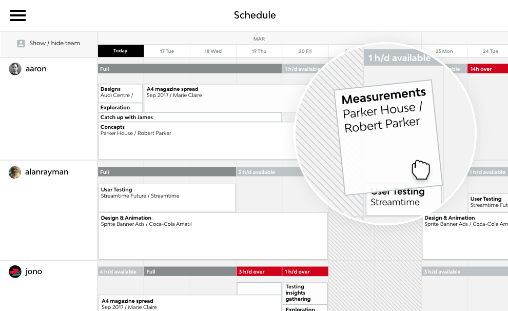 scheduling software perfect for agencies streamtime